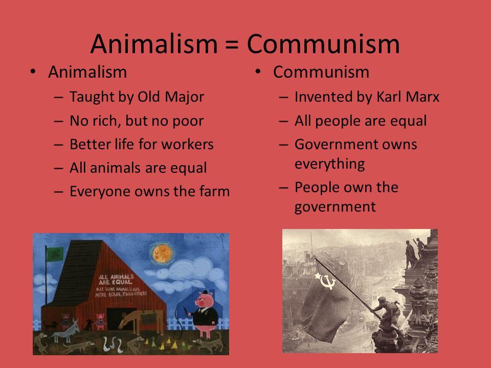 Animal farm marxism essay