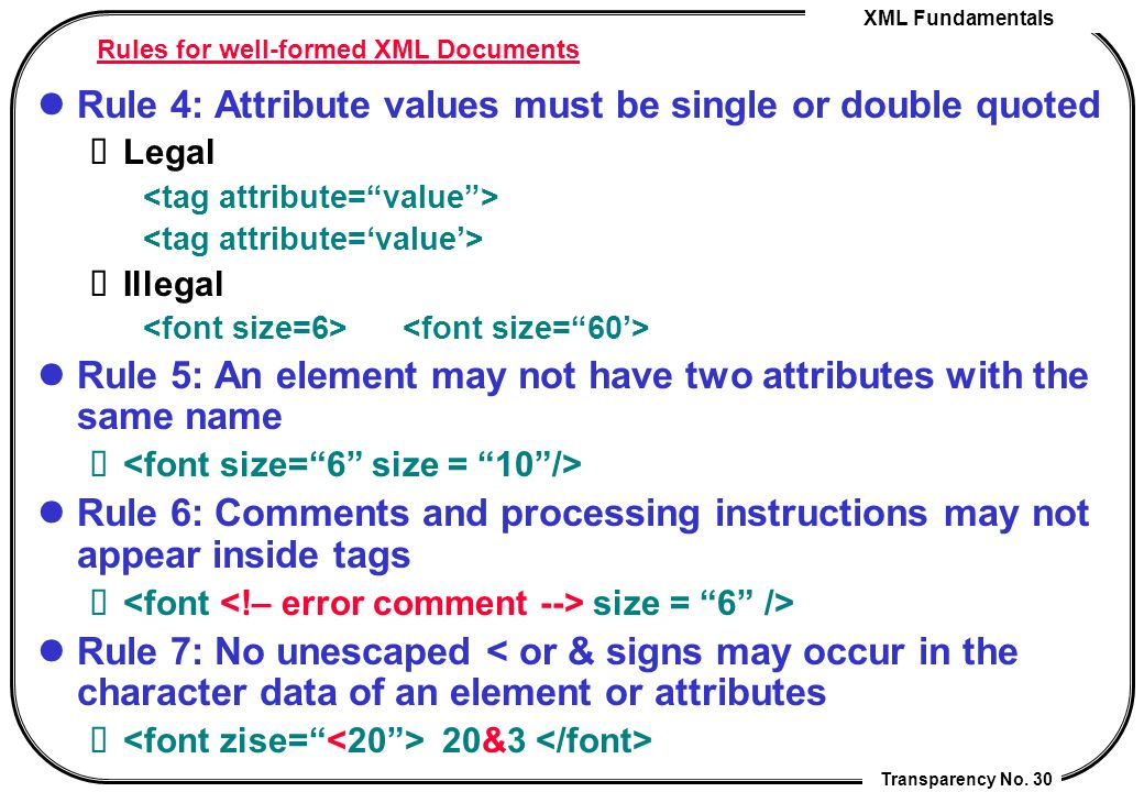how to create a well formed xml document