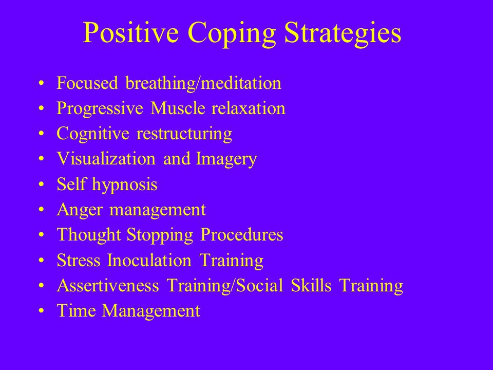 Negative ways to cope with difficult emotions - recognition is the ...
