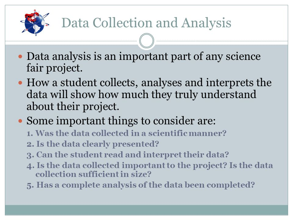 science fair data analysis Science fair data analysis - only hq academic services provided by top specialists find out basic tips how to receive a plagiarism free themed term paper from a.