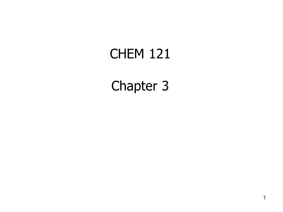 chem 121 Here is the best resource for homework help with chem 121 at edmonds community college find chem121 study guides, notes, and practice tests from edmonds.