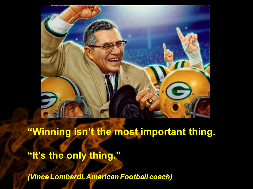 """winning isnt the most important thing Having won or lost on the sporting field, the most important thing is how you deal with the result and move forward gloating over a victory or it was grantland rice, the famous american 20th century sportswriter who coined the phrase """"it's not whether you win or lose but how you play the game"""" these sentiments still."""