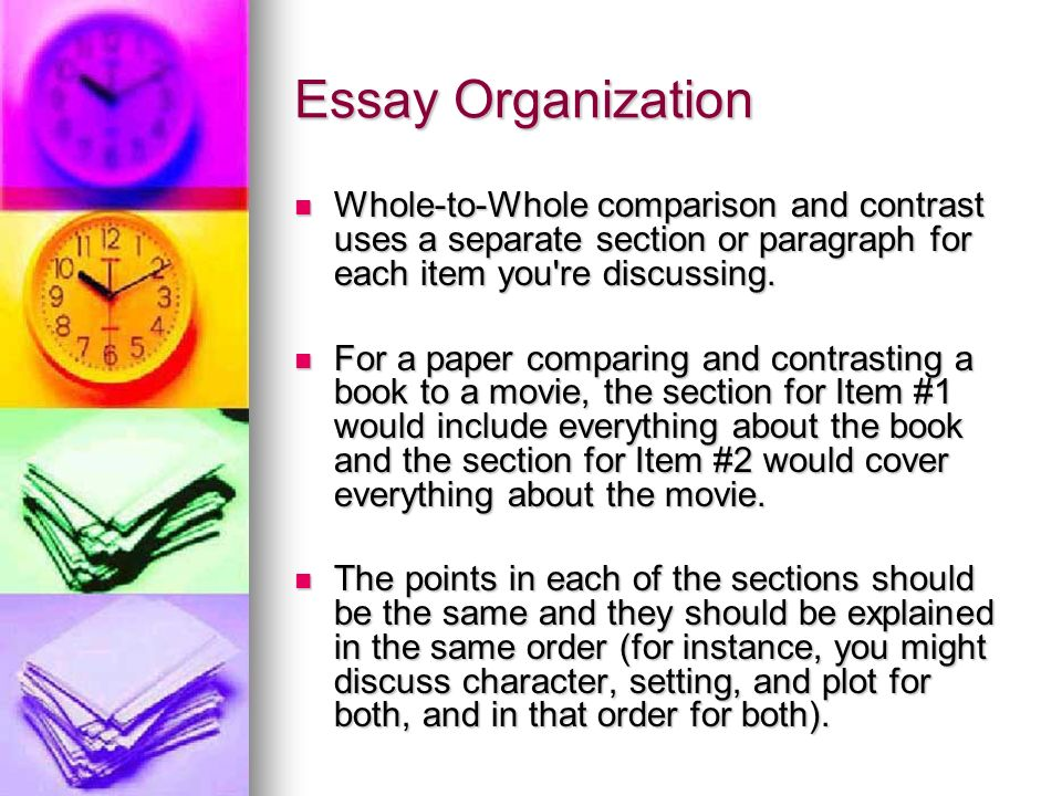compare 2 books essay Thesis sentence templates 11 a thesis sentenceis a sentence in the introduction that tells the reader what the topic or argument of the essay is experienced writers have lit.