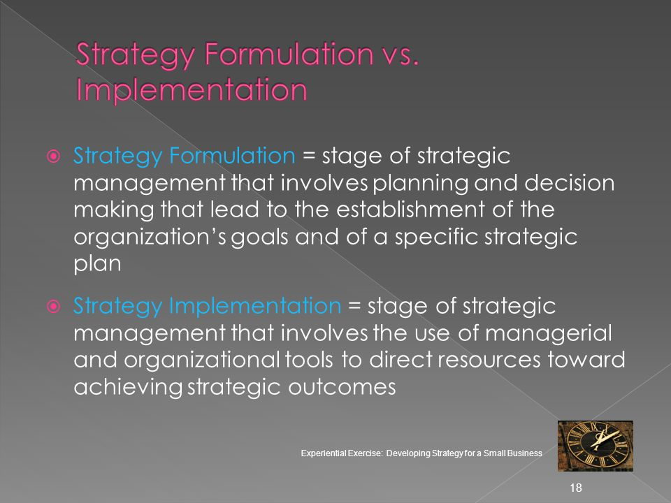 Corporate Level Strategy And Its Link To Strategic