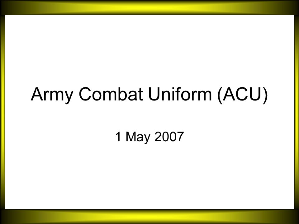 Army combat uniform acu ppt video online download army combat uniform acu toneelgroepblik Image collections