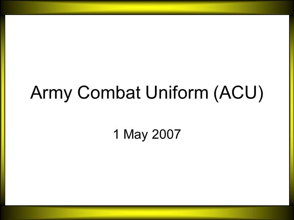 Army combat uniform acu ppt video online download army combat uniform acu toneelgroepblik Choice Image