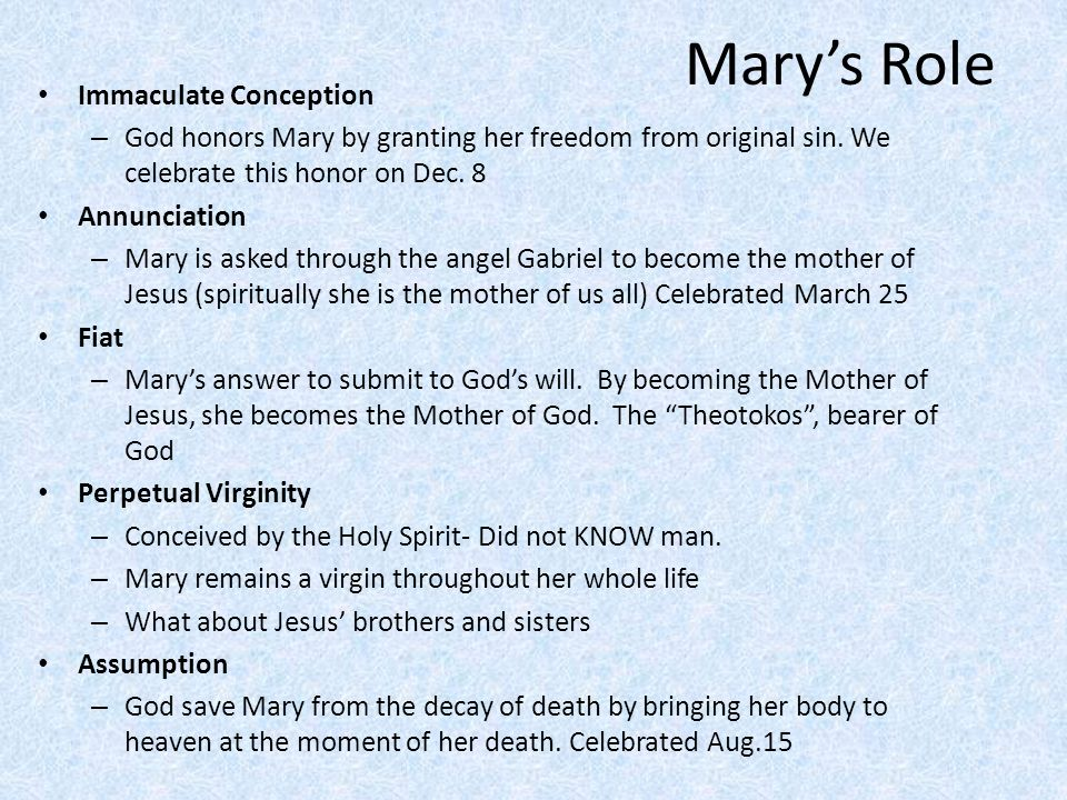 a study of the life and role of mary the mother of jesus Yet, the most enigmatic woman of the bible, mary, the mother of jesus, has very  little  however, mary will be blessed forever as she is remembered for her role  in jesus' life and  the women's study bible, second edition, nkjv version.