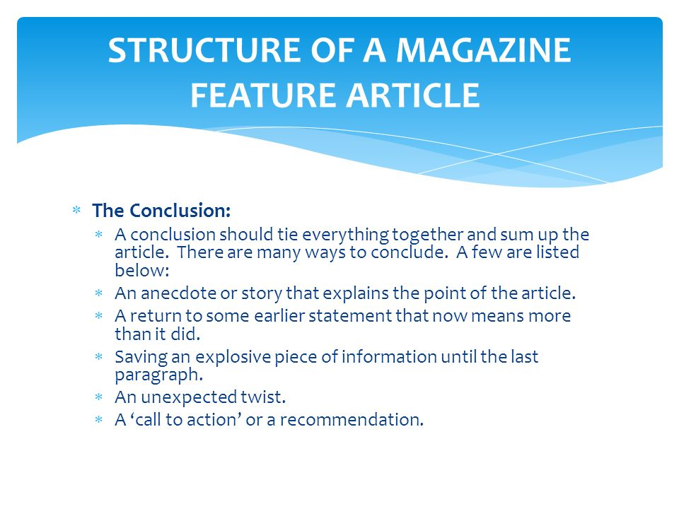 Several Basic principles in Mag Composing