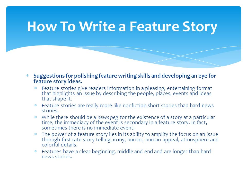 Short Story Writing Tips - PowerPoint PPT Presentation