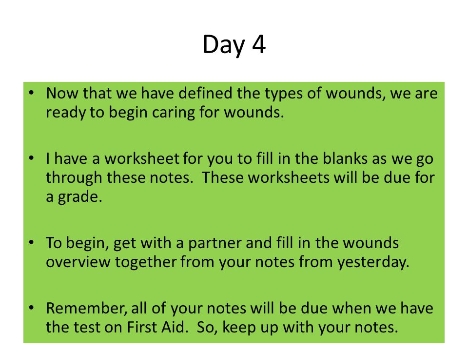 Chapter 16 First Aid ppt video online download – First Aid Worksheet
