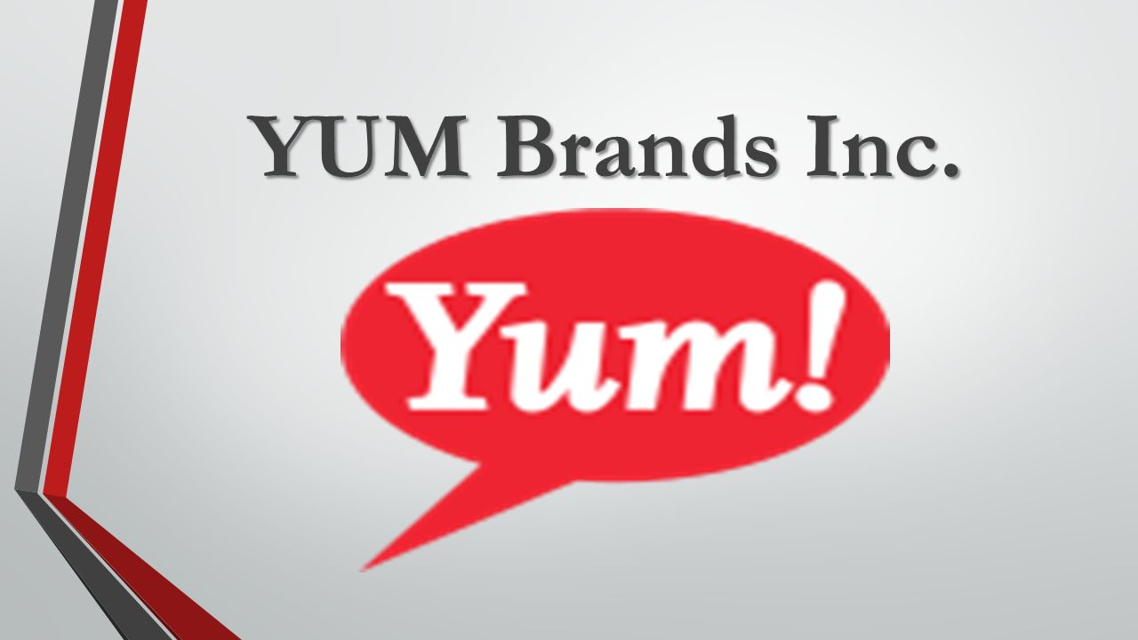 Yum Brands Inc Ppt Video Online Download