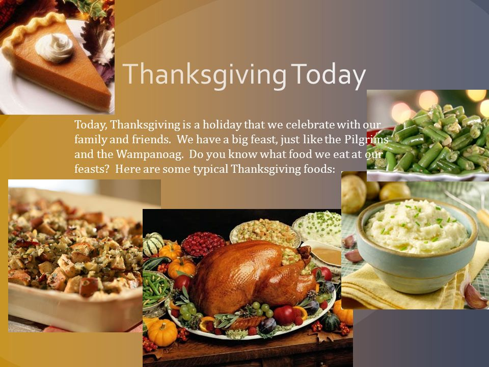 What Traditional Thanksgiving Food Did The Pilgrims Eat