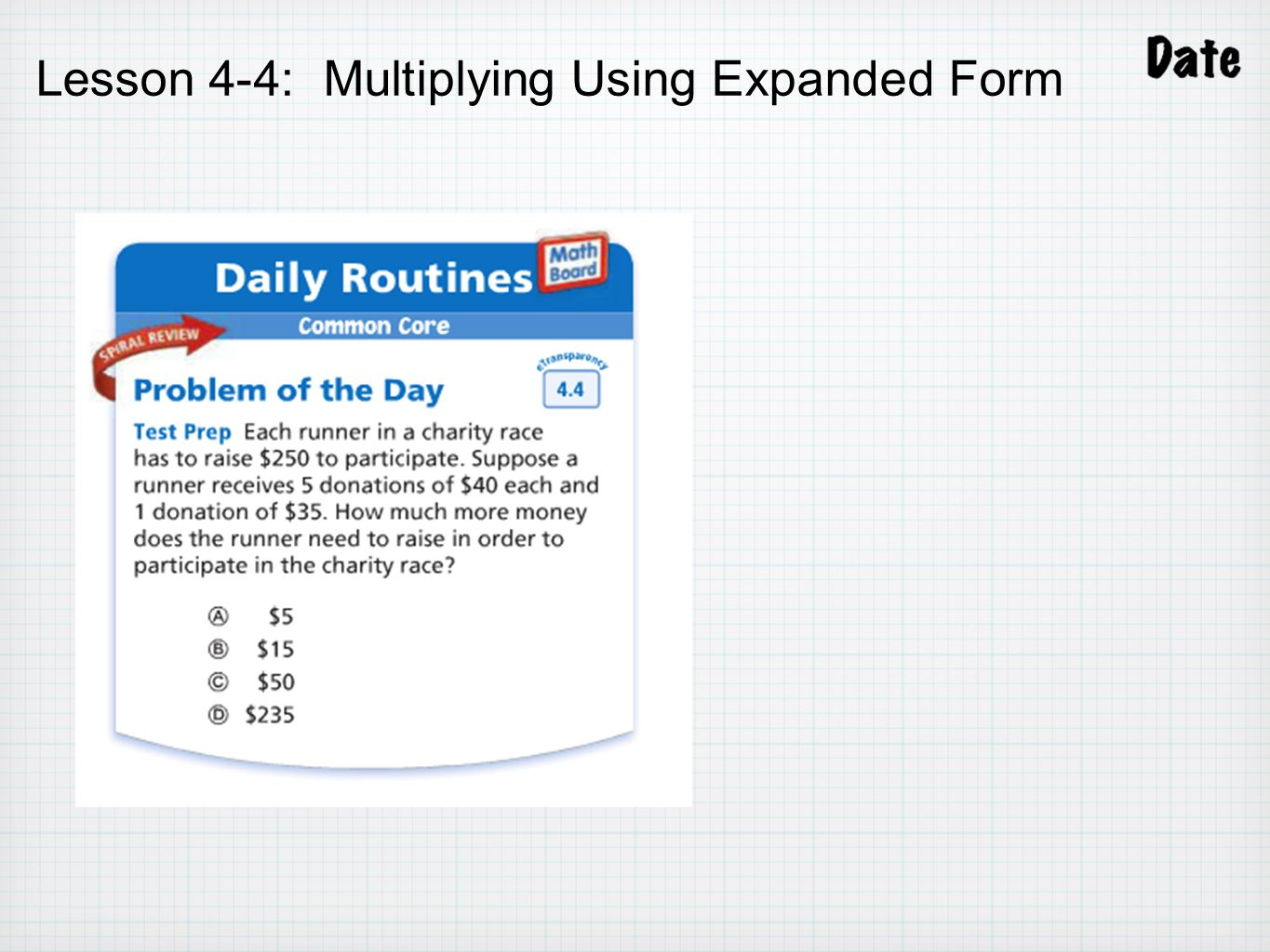 Chapter 4 multiply decimals ppt video online download 17 lesson 4 4 multiplying using expanded form falaconquin