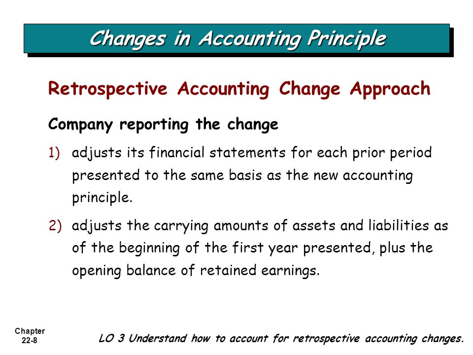 accounting changes and error analysis Accounting description intermediate accounting 2 - chapter 22 accounting  changes and error analysis total cards 22 subject accounting.