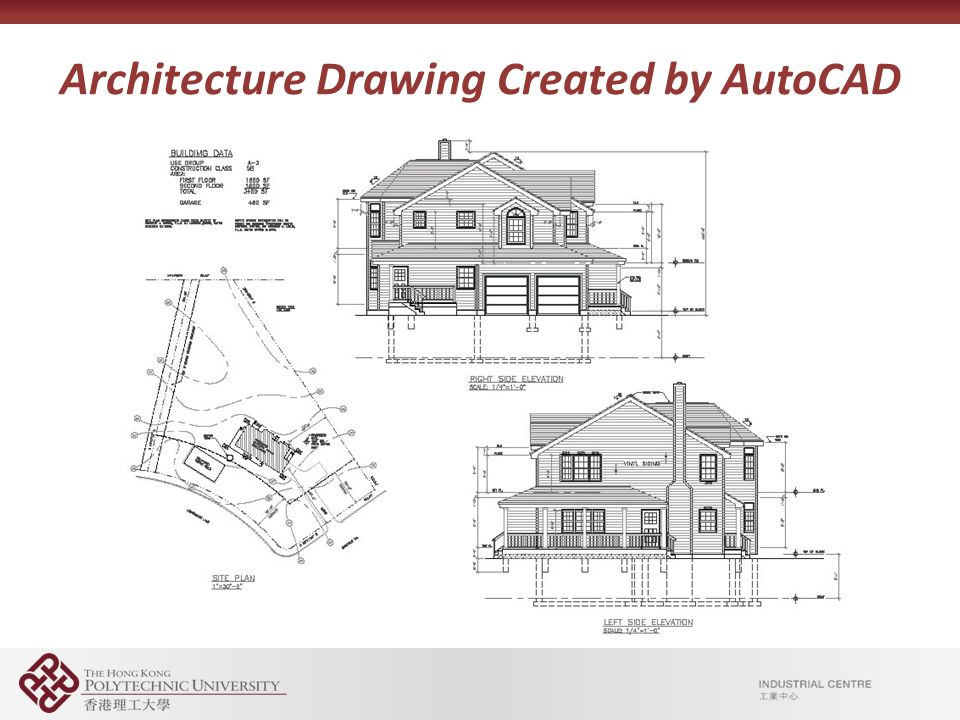 Introduction to autocad engineering drawings ppt video for Architectural drawings online