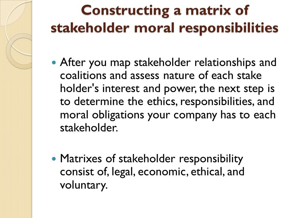 ethical and legal obligations paper Excerpt from this ethical and legal issues in nursing paper: like any member of the other professions, a professional nurse has many legal responsibilities to assume in the practice of her or his profession the legal responsibilities of nursing are to look after their patients to the best of their ability within the framework of the code of.