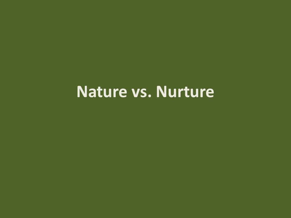 nature strongly influences early human development discuss essay Free human development papers, essays  to which nurture or nature influence early human development nurture strongly influences early human development.
