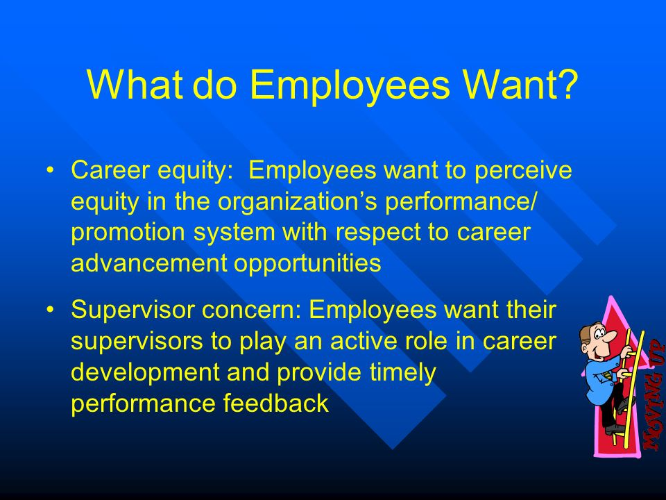 the need and benefits of career development of employees in an organization The role of the individual and the organization in career development  shall be in accordance with their needs and they have a career development perspective obtaining more informed.