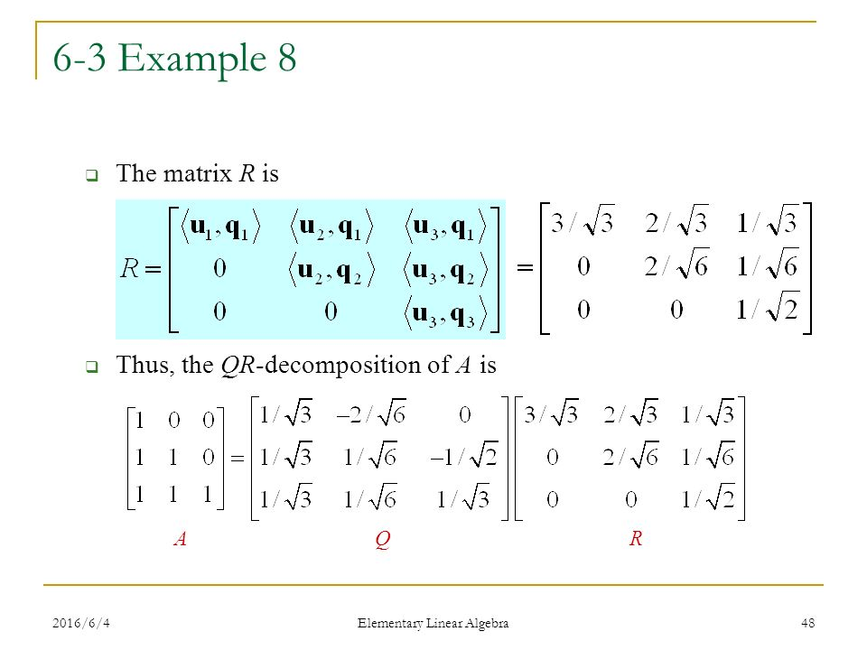 how to find the volume of an image linear algebra