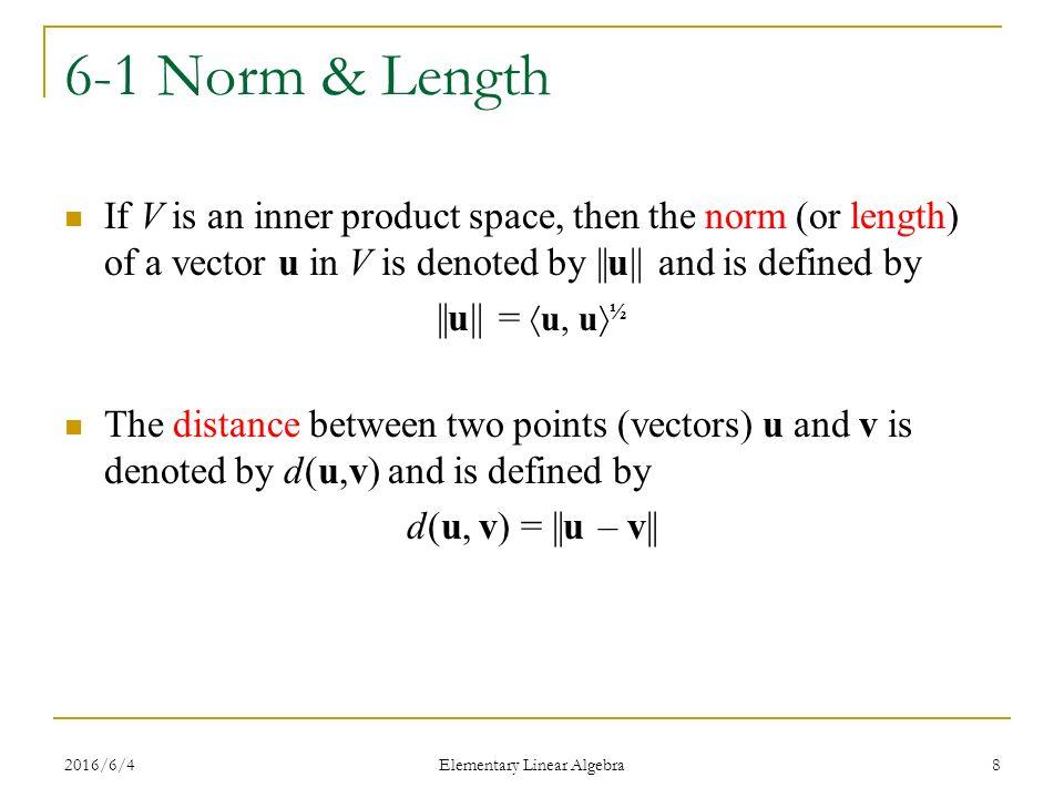 inner product spaces linear algebra pdf