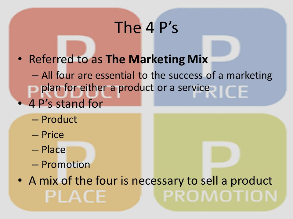 4 p s marketing ibm As marketers, we're all taught about the four pillars of business marketing the 4 p's- product, price, place, and promotion are ingrained in our memory from day one of our education in the.