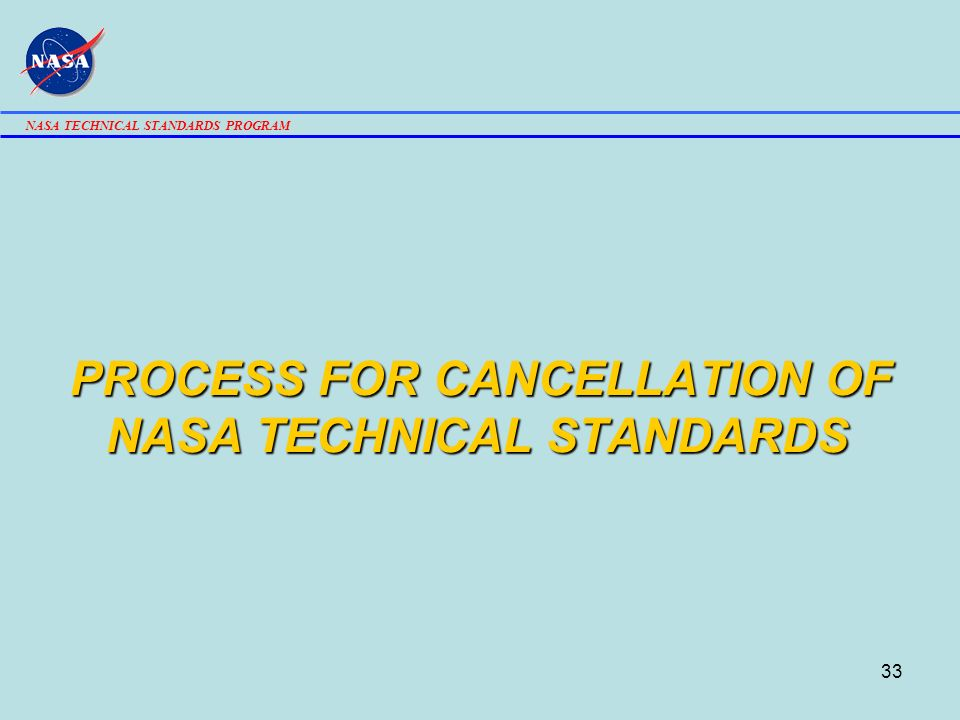 NASA TECHNICAL STANDARDS WORKING GROUP MEETING - ppt download