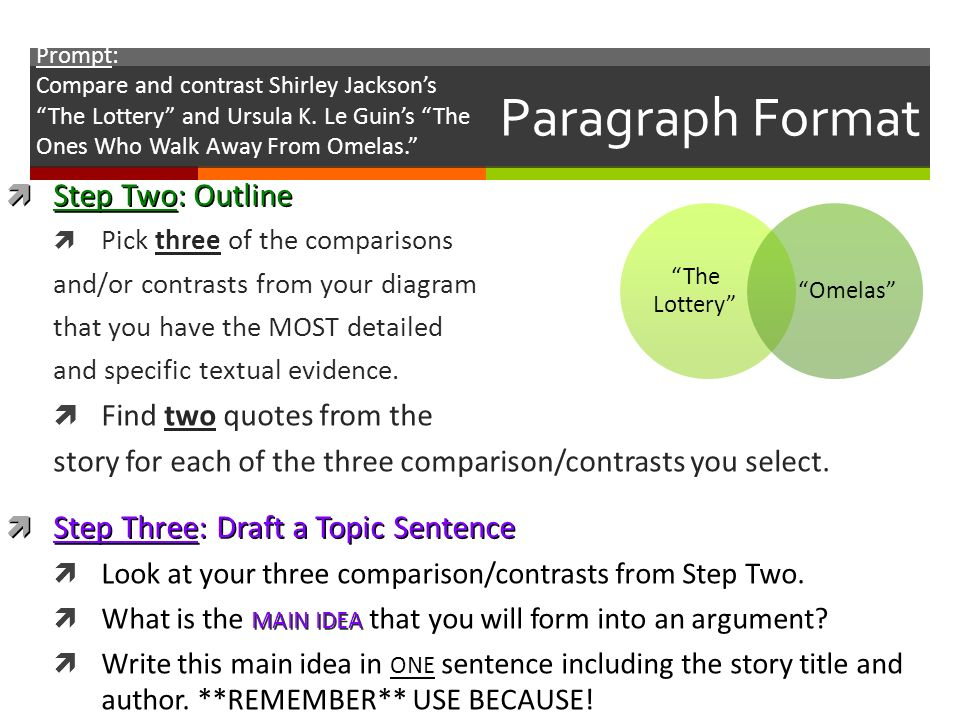 a comparison of the lottery by shirley jackson and the ones who walk away from omelasa by ursula k l The ones who walk away from omelas is a 1973 short story by american writer ursula k le guin with deliberately both vague and vivid descriptions, the narrator depicts a summer festival in the utopian city of omelas, whose prosperity depends on the perpetual misery of a single child.