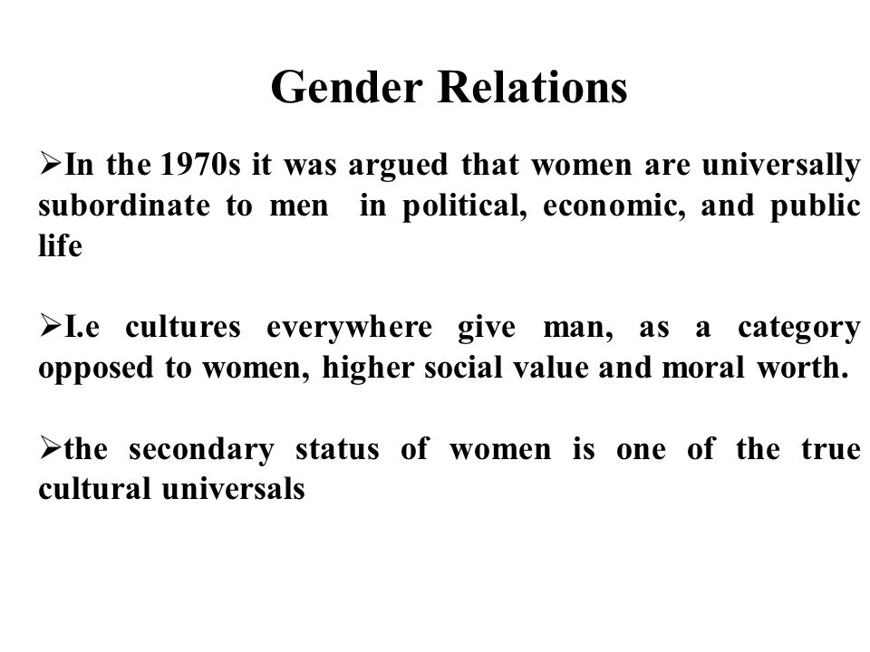 Essay/Term paper: Gender roles