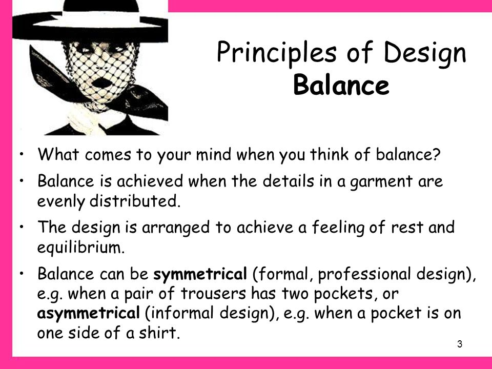 Principles of Design ©PDST Home Economics. - ppt video online download