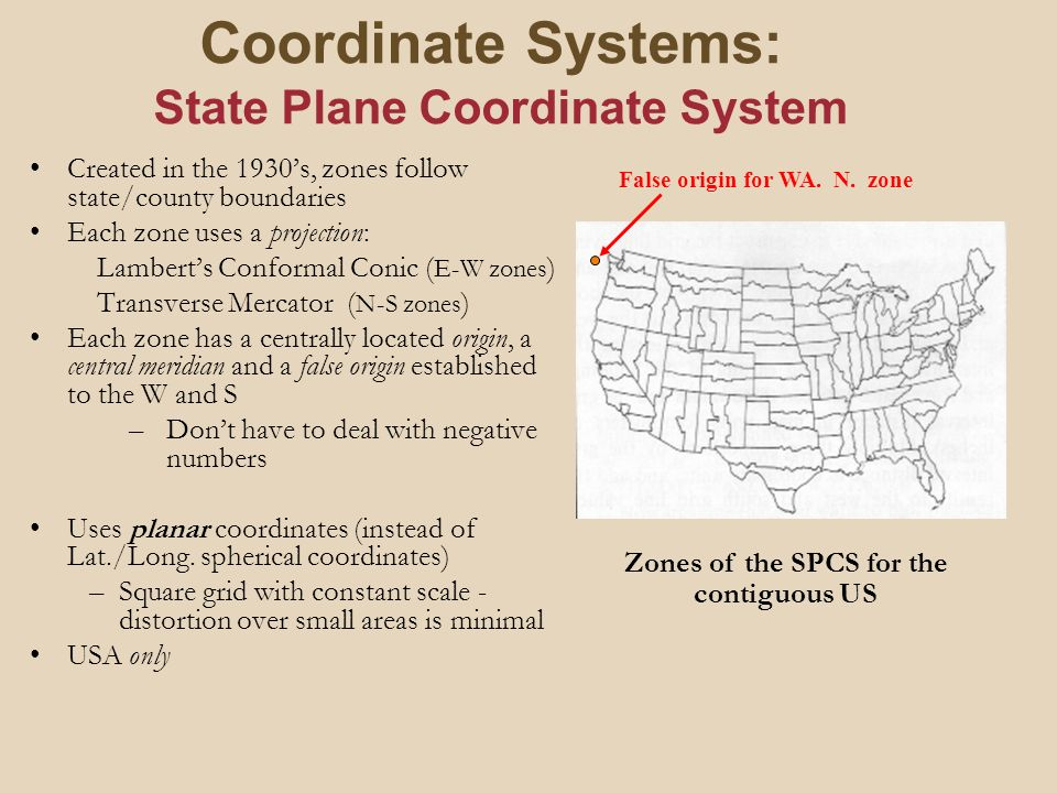 Map Projections Coordinate Systems Ppt Video Online Download - Univerasl us coodirnate system arc map