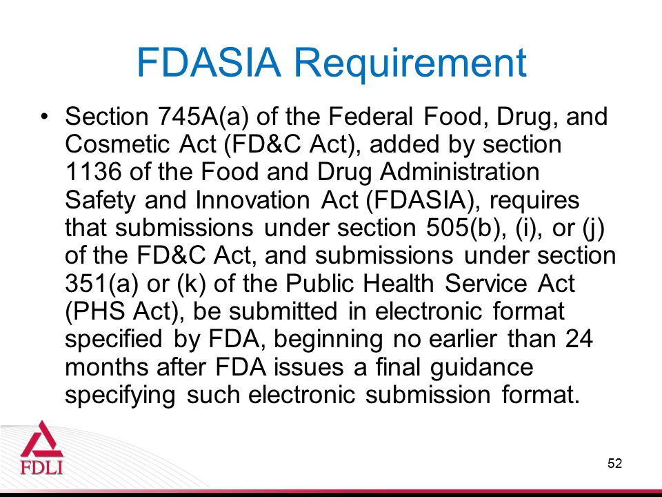 federal food and drug act The food and drugs act in 2006, of the fda name in 2030, of the federal food,  drug, and cosmetic act in 2038, and so forth 6 the name of the unit was.