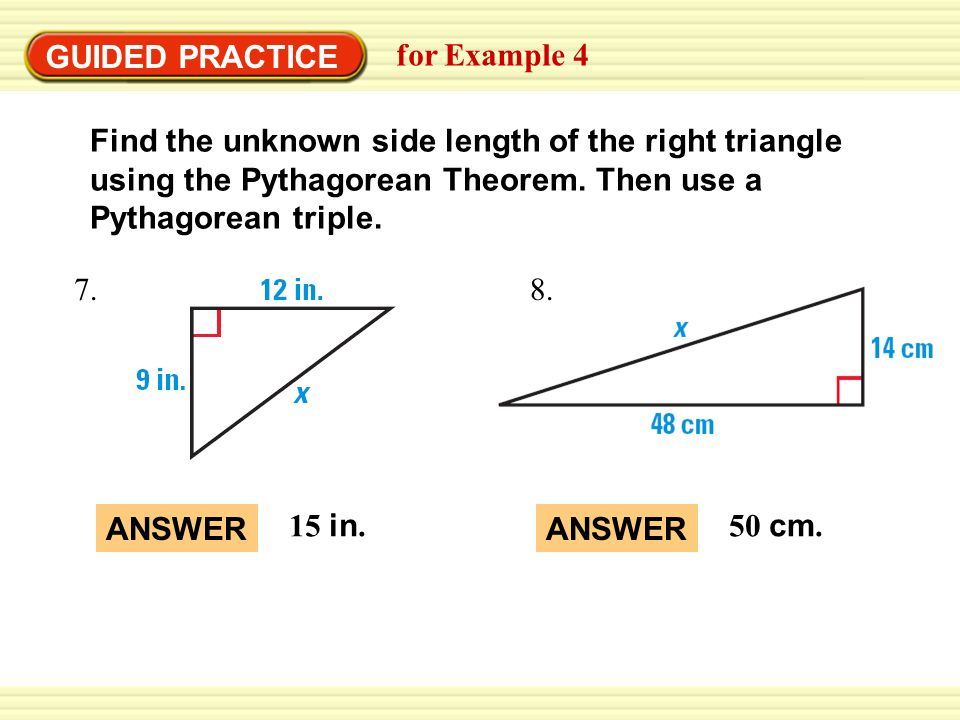 using the pythagorean theorem in everyday Thanks for a2a yash khare pythagoras was a greek philosopher and mathematician uses of pythagoras: you may have heard about pythagoras's theorem (or the pythagorean theorem) in your math class, but what you may fail to realize is that pythagoras.