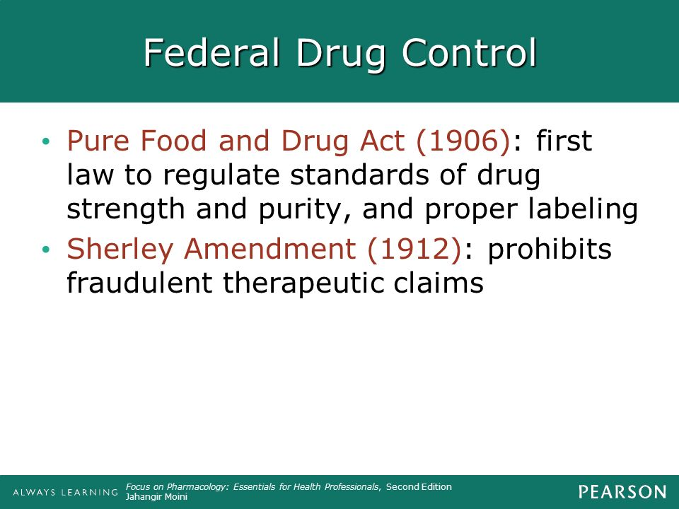 federal food and drug act Start studying pharmacy law: federal food, drug, and cosmetic act learn vocabulary, terms, and more with flashcards, games, and other study tools.