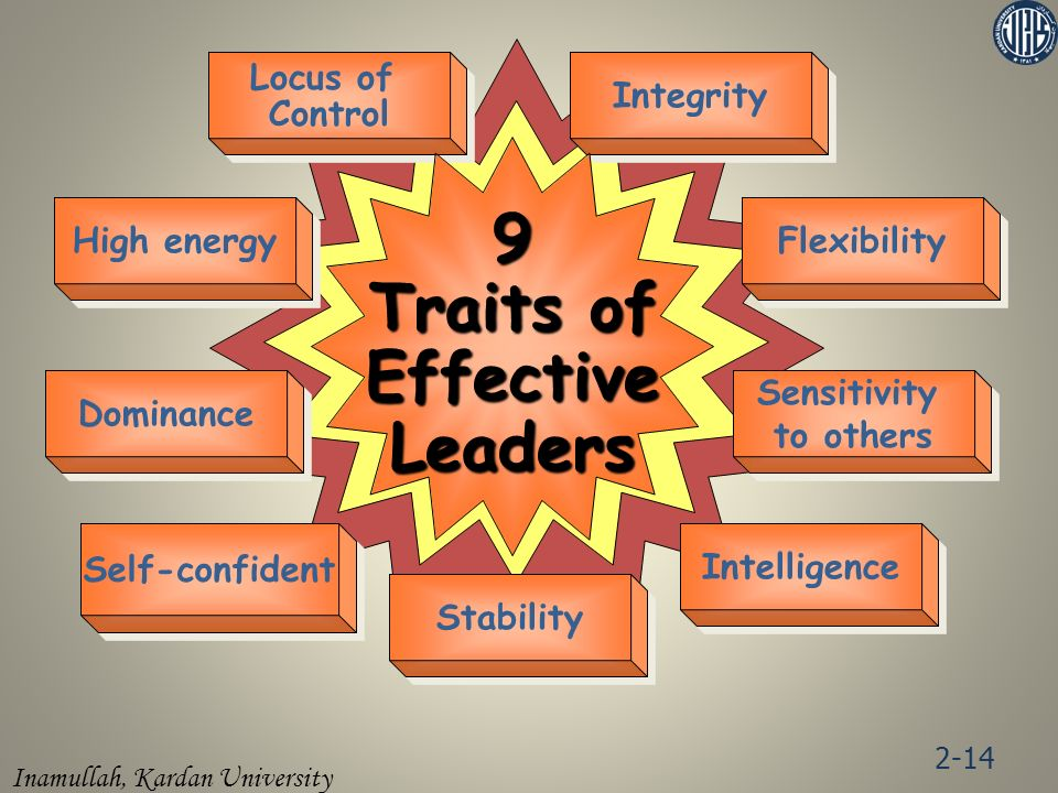9 Traits of Effective Leaders