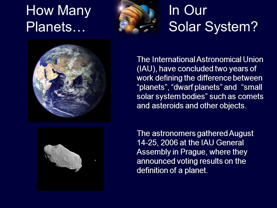 With the advent of powerful new telescopes on the ground ...