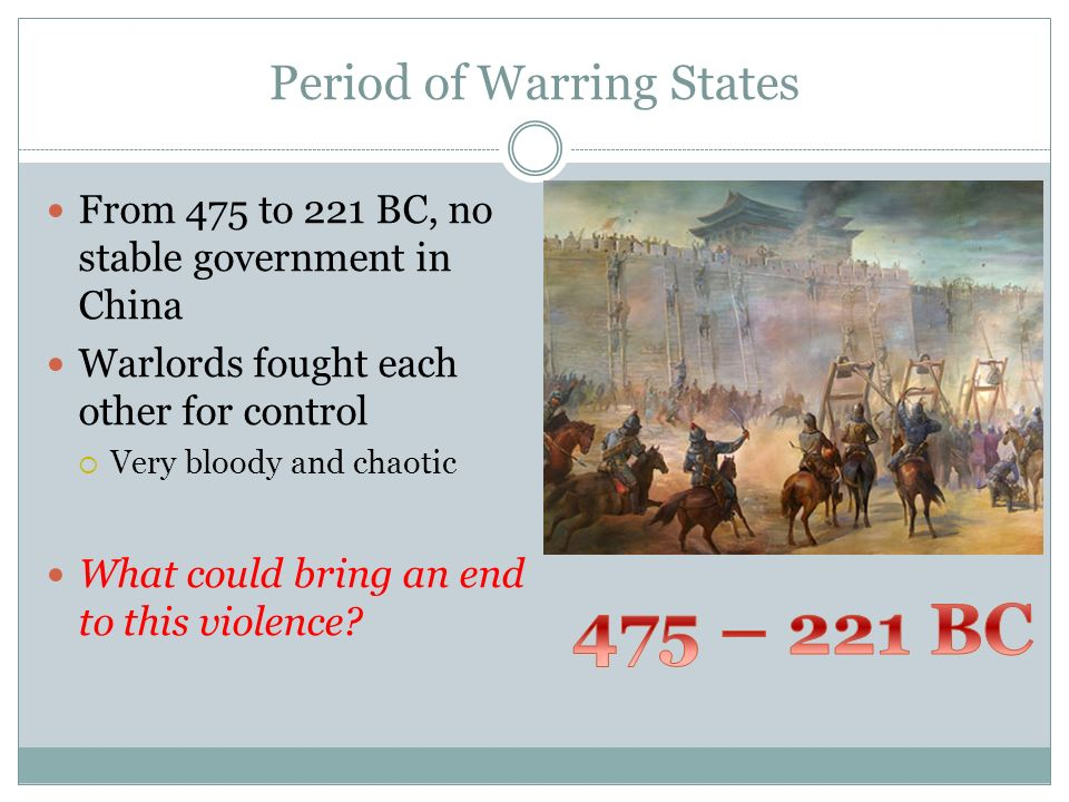 Period of Warring States