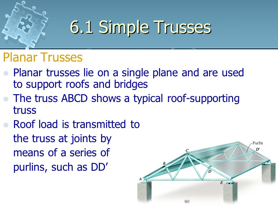 plane truss Introduction in this short paper, a method for solving plane trusses in presented  the method will give you a taste of how the finite-element-method (fem) works.
