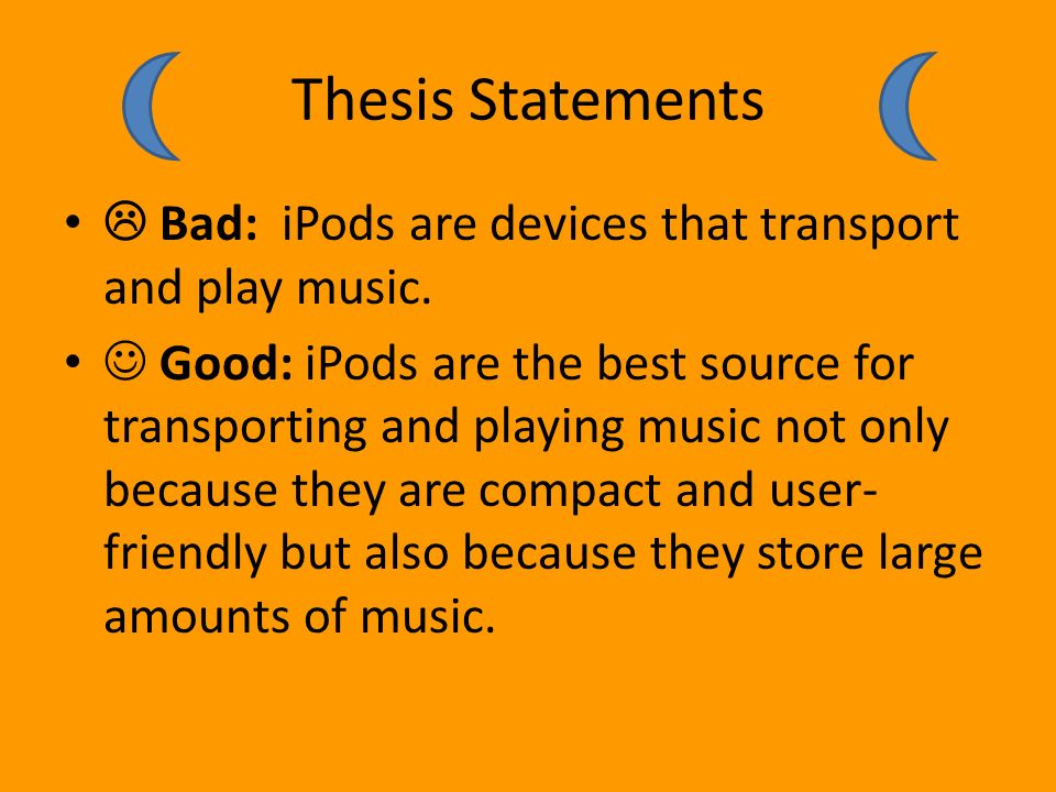 good vs bad thesis statements middle school A short interactive presentation to help students develop thesis statements  thesis identifying activity 1  which are all vital to the region this is a topic sentence the reason it is not a good thesis is because it does not present an argument or address the whole prompt it is a factual statement to make it a strong thesis, you.