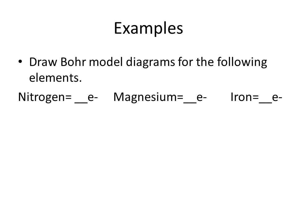 43 electron structure adapted from kelly deters chemistry you examples draw bohr model diagrams for the following elements ccuart Choice Image