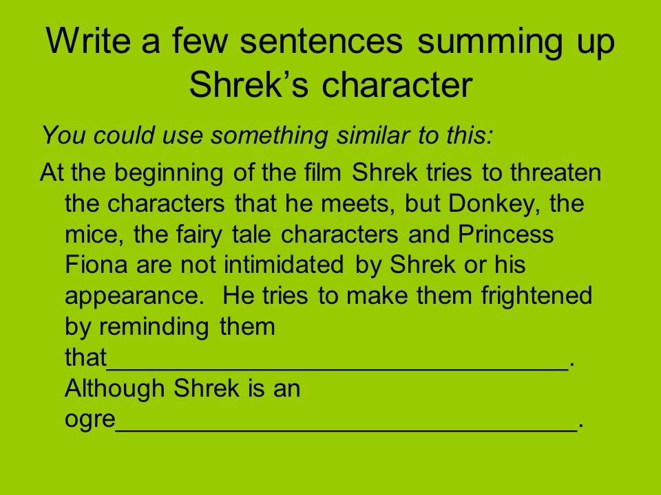 how to make a sentence with necessary evil