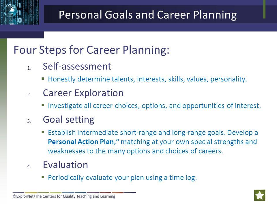 careers goals