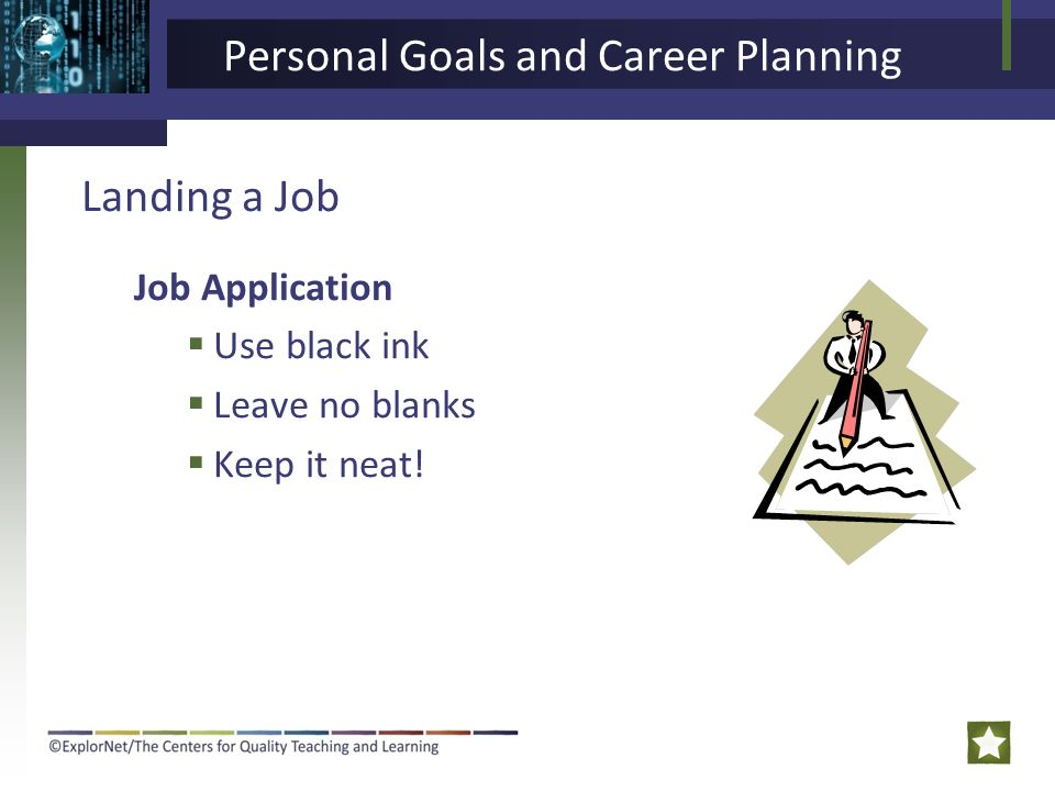 how to set personal career goals