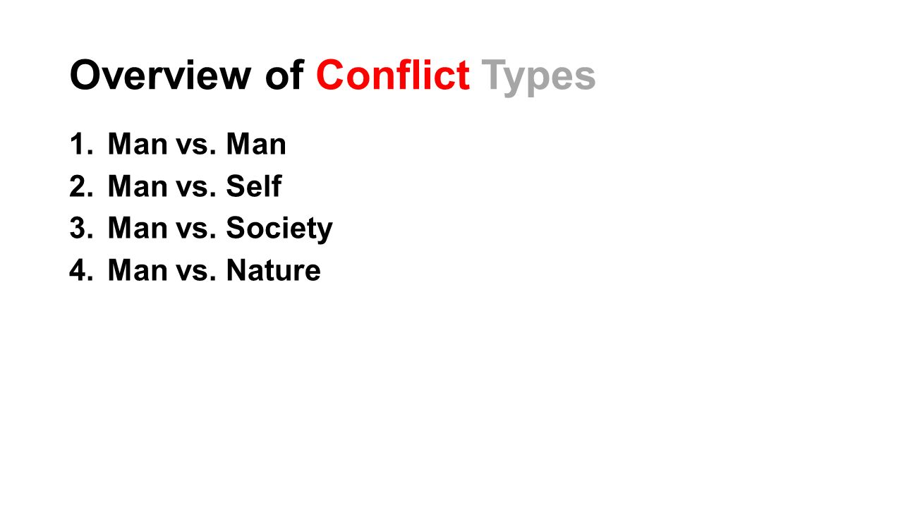 conflict self vs society essay In character vs society, a character or a group of characters are in conflict with a society's social traditions or norms.
