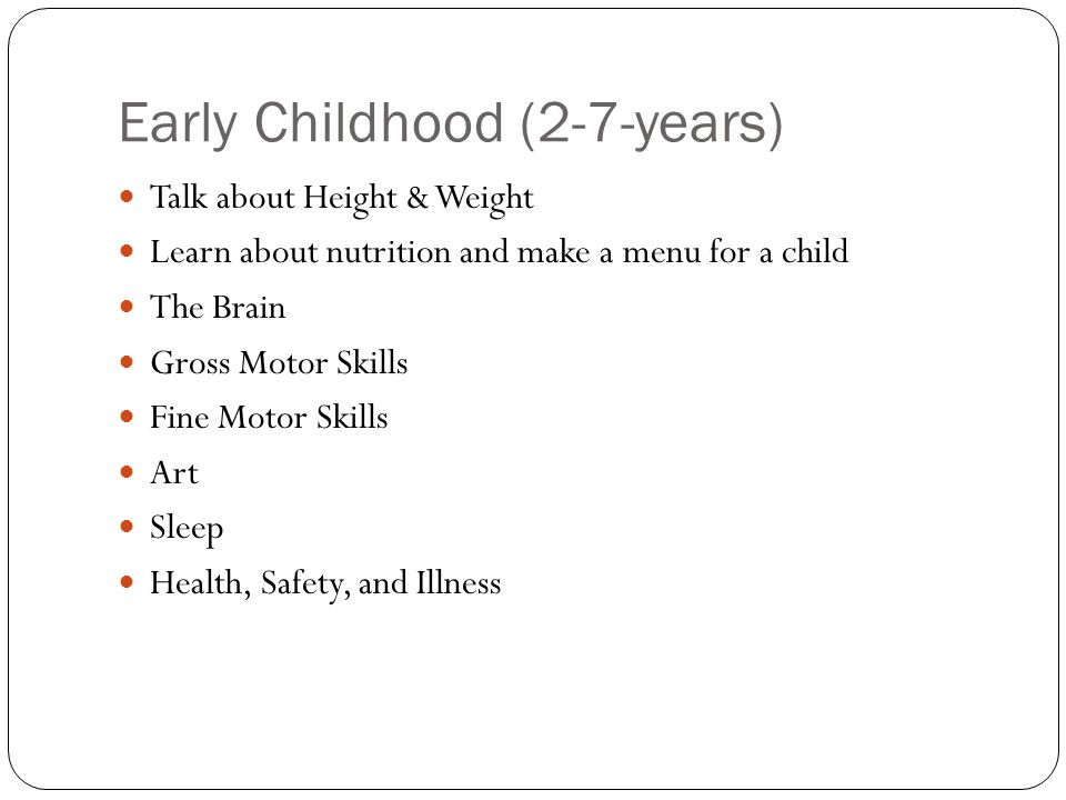 Physical development in early childhood ppt video online for Physical and motor development in early childhood