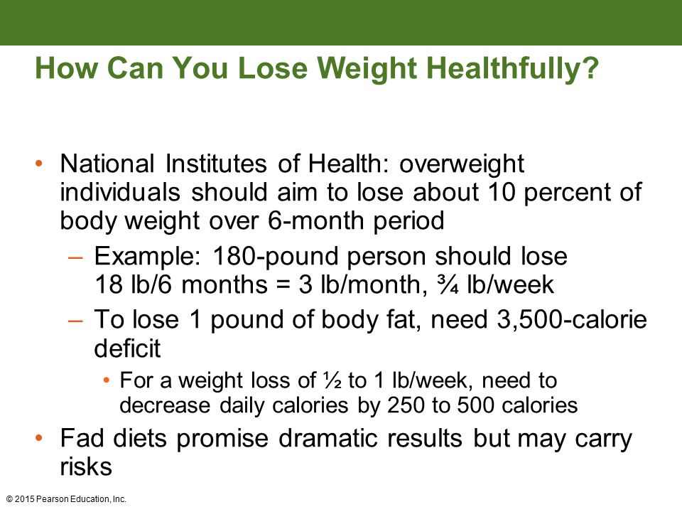 Weight management and energy balance ppt video online download 31 how can you lose weight healthfully ccuart Choice Image