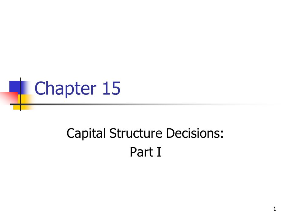 capital structure decision of small and Firm size and capital structure decisions: evidence from hotel and this study aimed at analyzing the capital structure decision of small size will.
