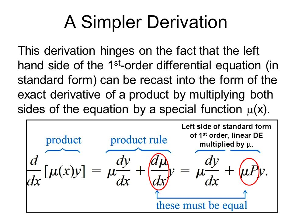 First-Order Differential Equations Part 1 - ppt video online download