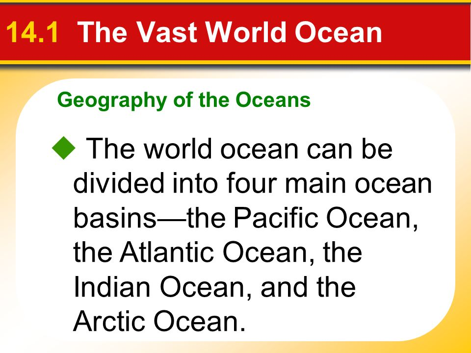 Geography of the Oceans