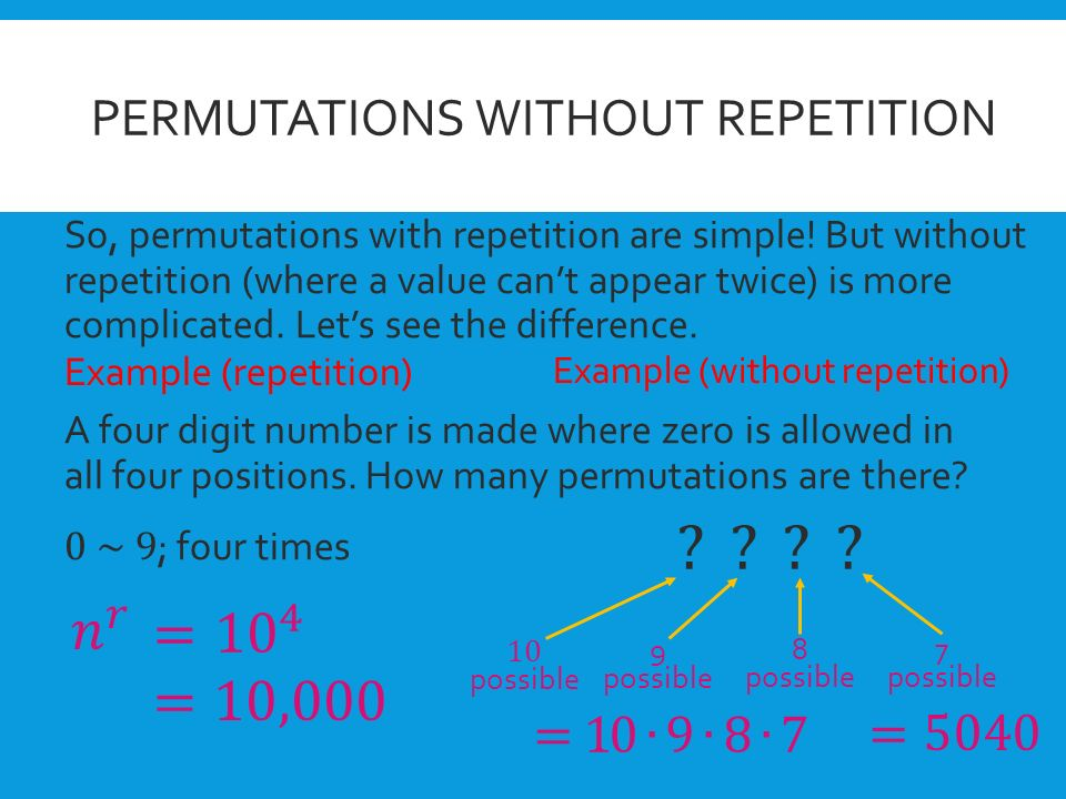 the repetition of numerical values in Using the key value as is would be ok in this situation, where the key value used for the repetition number contains a unique numerical portion, and where i just need to reference the value later on but using the code function to convert that key value to an integer reduces the potential for error, and is clearly the right way to do it.