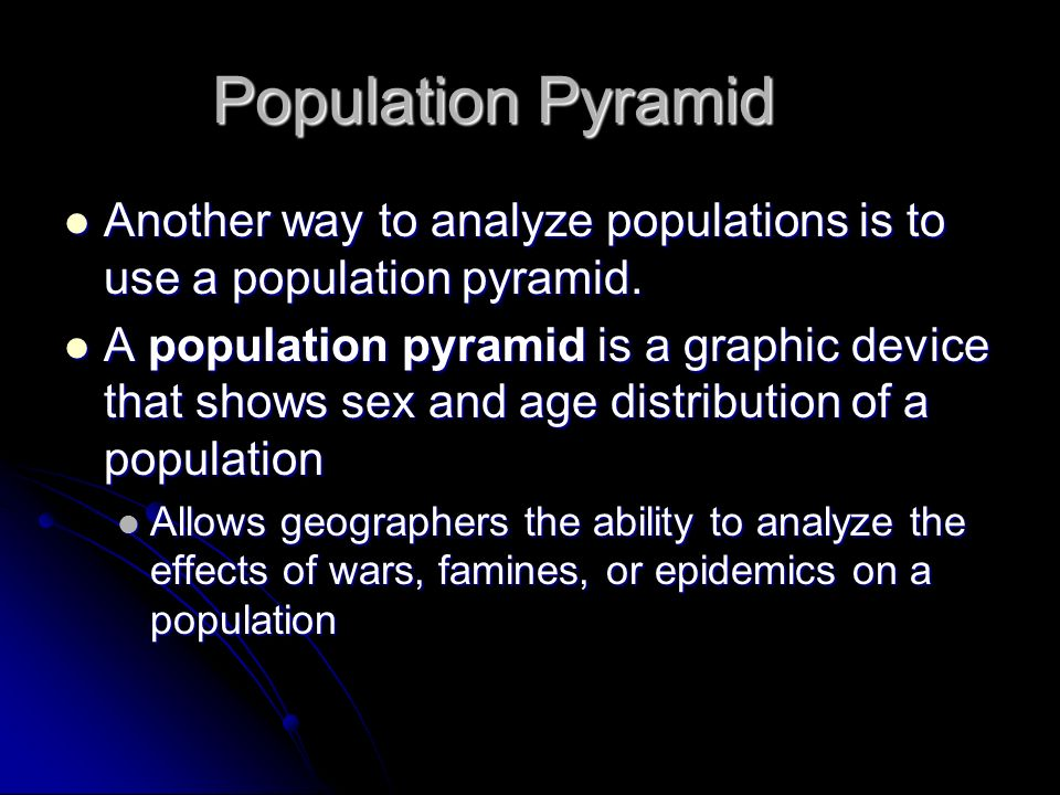 how to make a population pyramid online